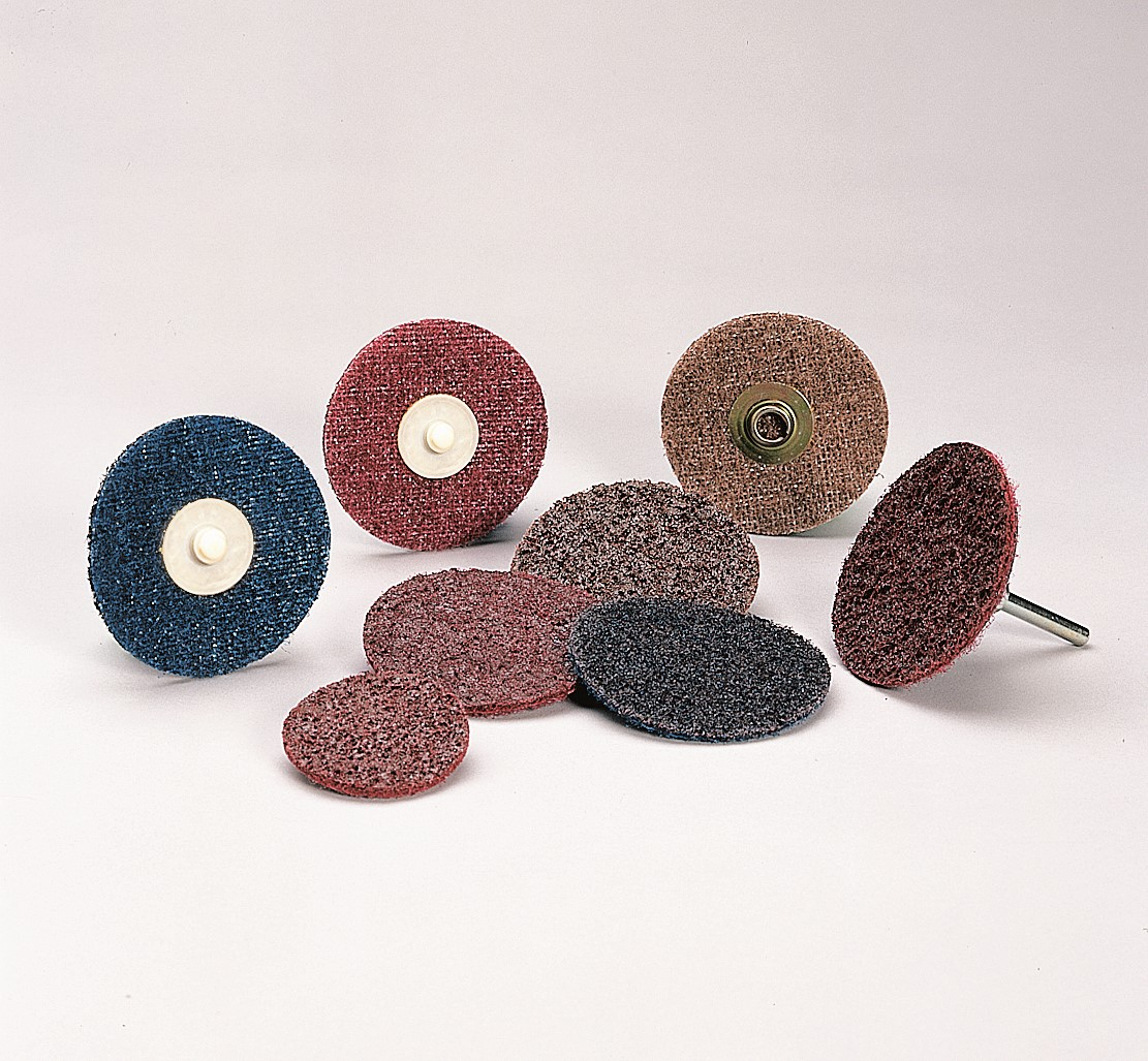 2 in 80 3M Standard Abrasives Quick Change TS A//O 2 Ply Disc 525406